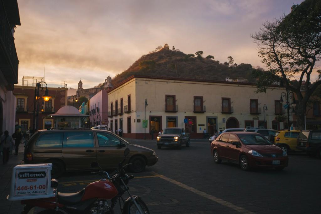 Cerrito und Kloster im Abendlicht