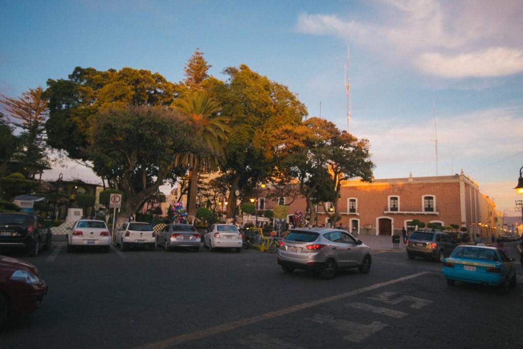 Palacio municipal am zentralen Platz