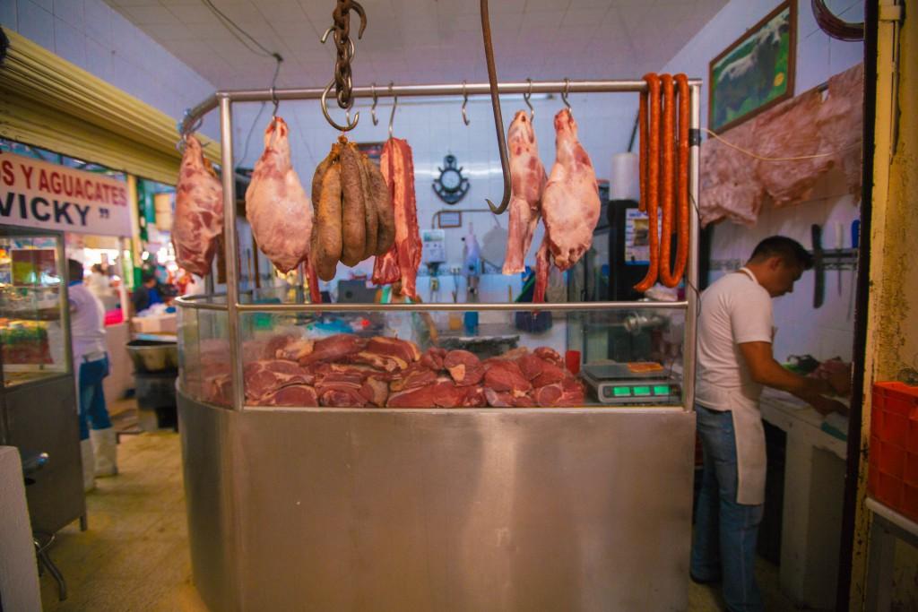 der freundliche Fleischer aus der Nachbarschaft