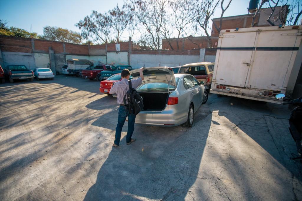 der typische Parkplatz