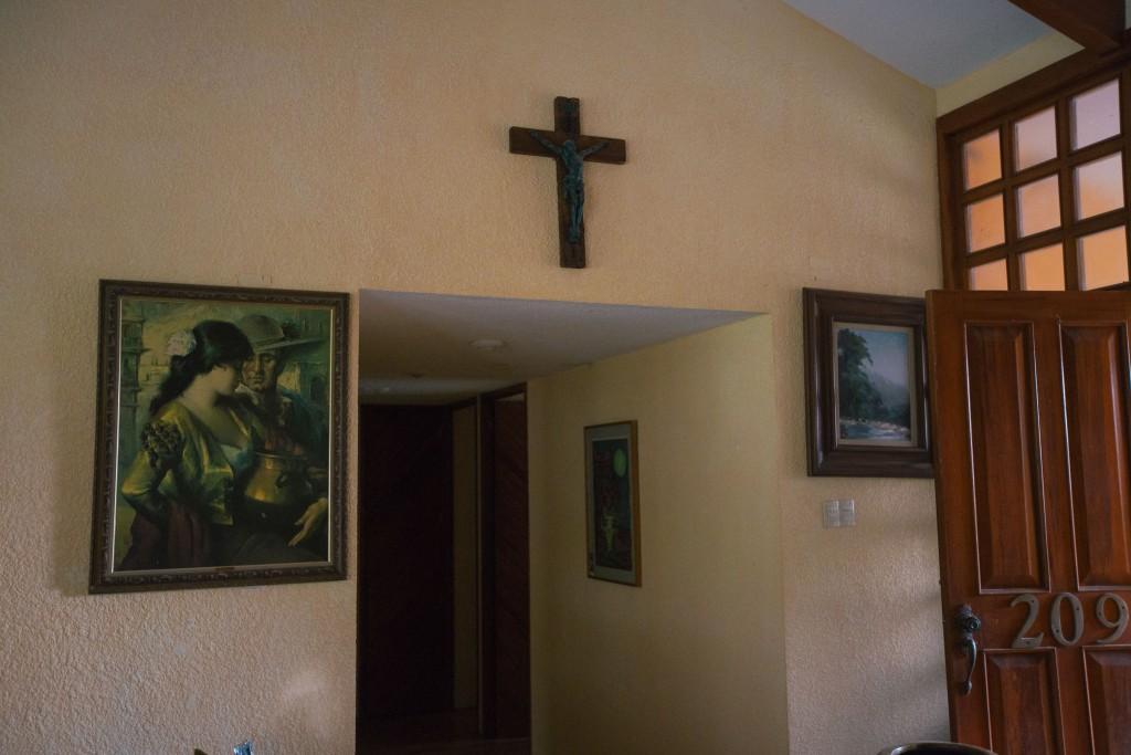 Wir danken Jesús für seine Mühen (als er die Avocados geerntet hat)