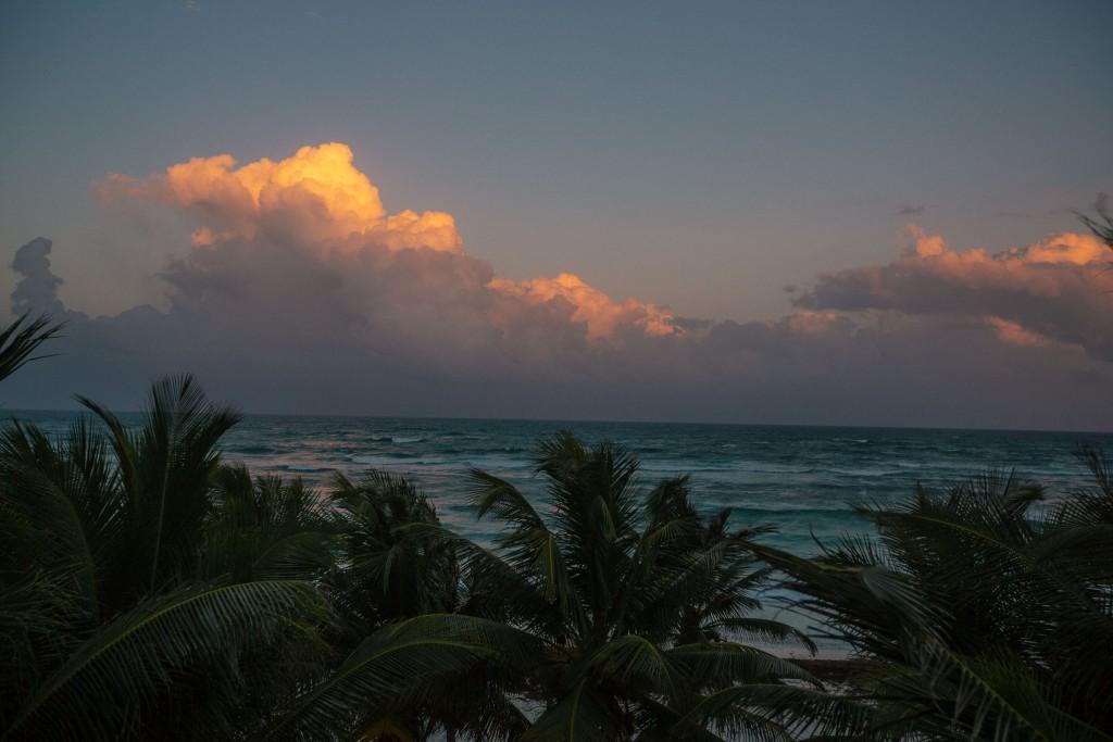 immer diese tropischen Wolkentürme