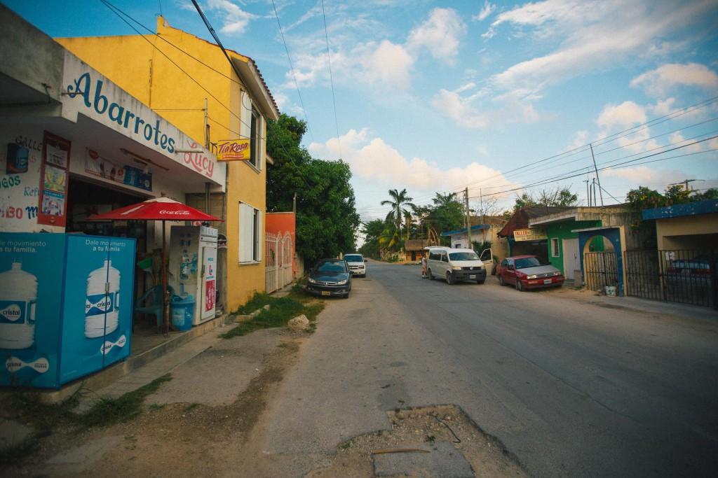 Trotz der ganzen Cabañas gibt es auch Hotels in der Stadt. Nunja.