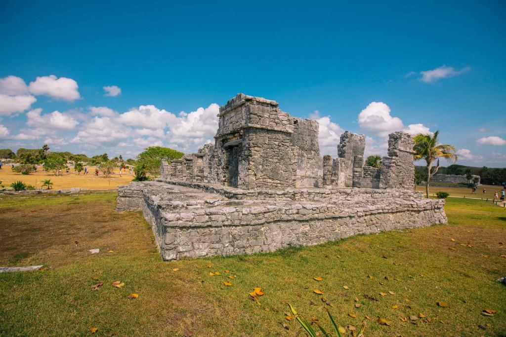 Haus von Halach Uinic, der zwar klingt wie ein tschechischer Radioansager, jedoch Maya-König war