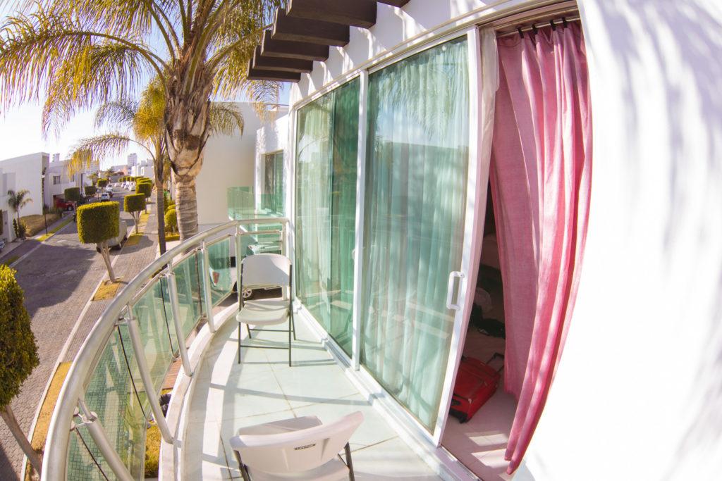 Balkon in Lomas