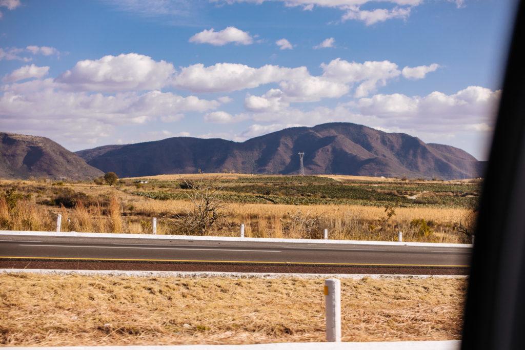 Hügel östlich von Atlixco