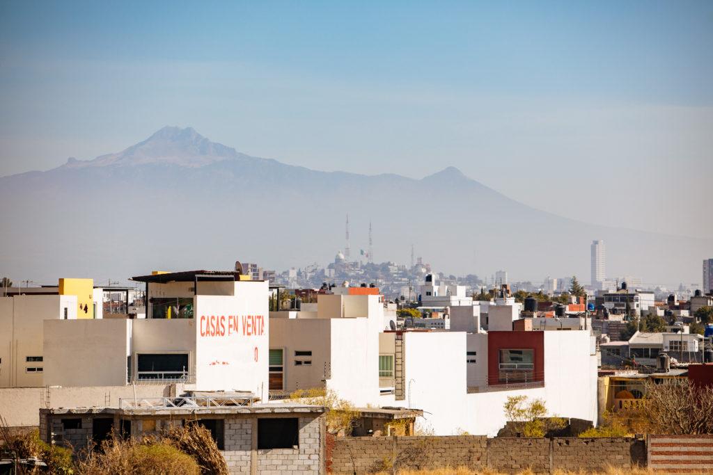 Malinche und La Paz vom periférico aus