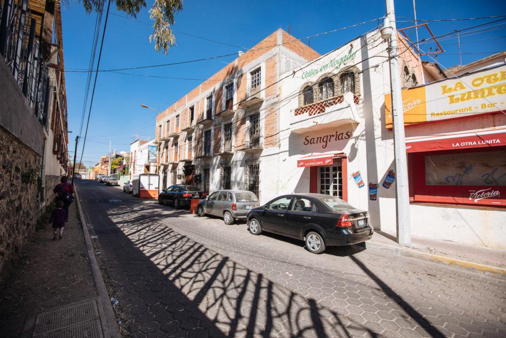 Seitenstraße beim Ciudad Sagrada