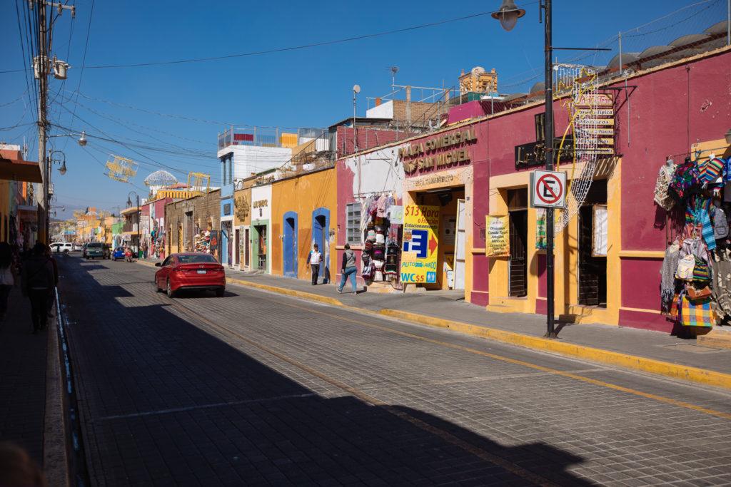 Av. Morelos in Cholula