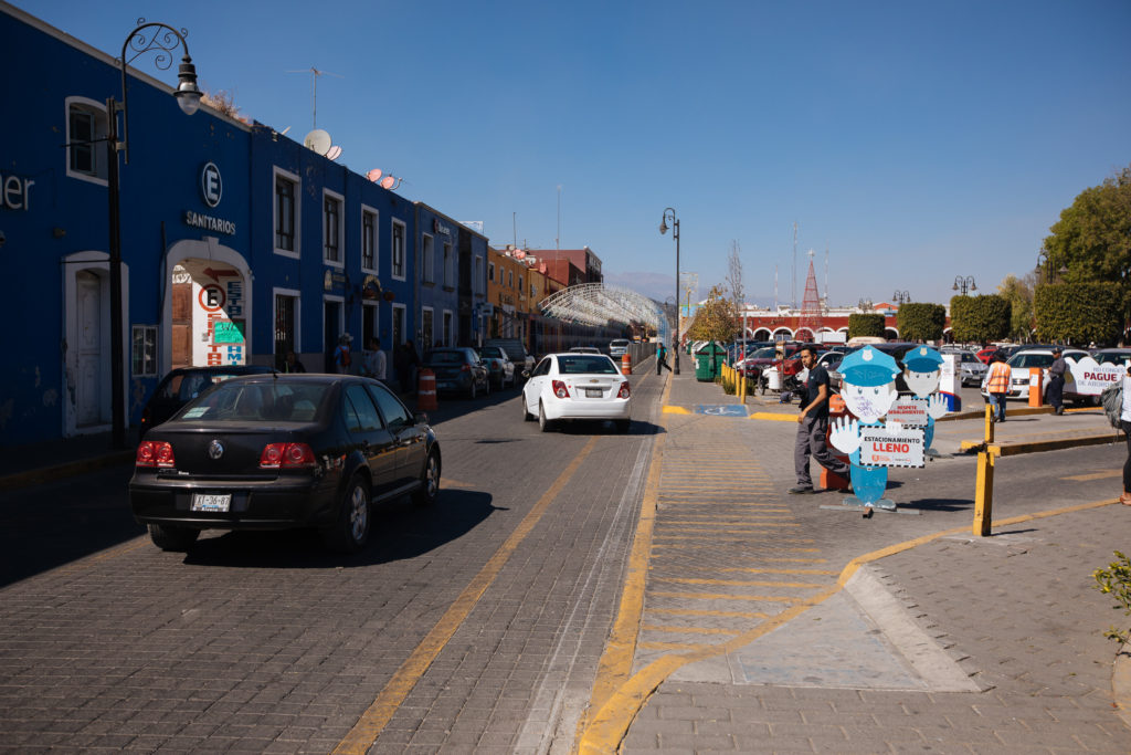 Ecke vom Zócalo San Pedro Cholula