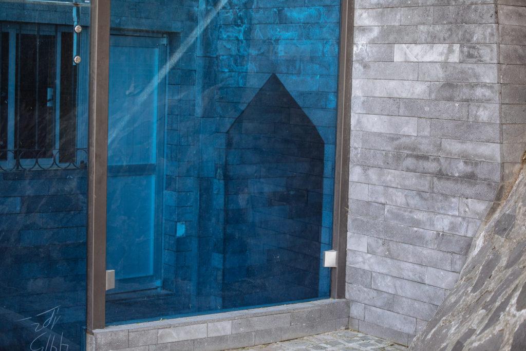 Eingang Untergrund Zona Arqueológica Cholula