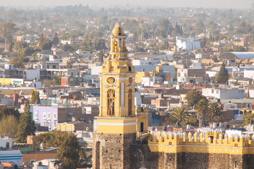Kirche in San Pedro Cholula