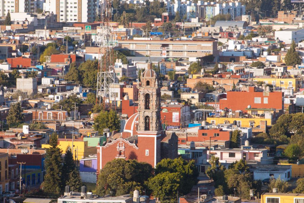 Noch eine andere Kirche in San Pedro Cholula
