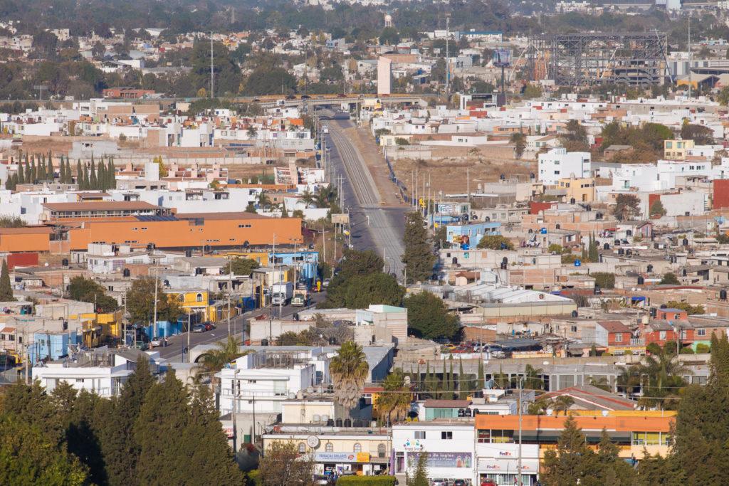 Die Bahnstrecke Puebla - Cholula