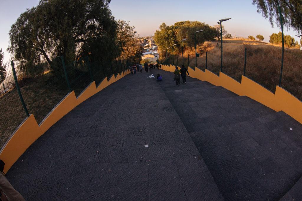 Erste/Letzte Etappe Pyramide Cholula