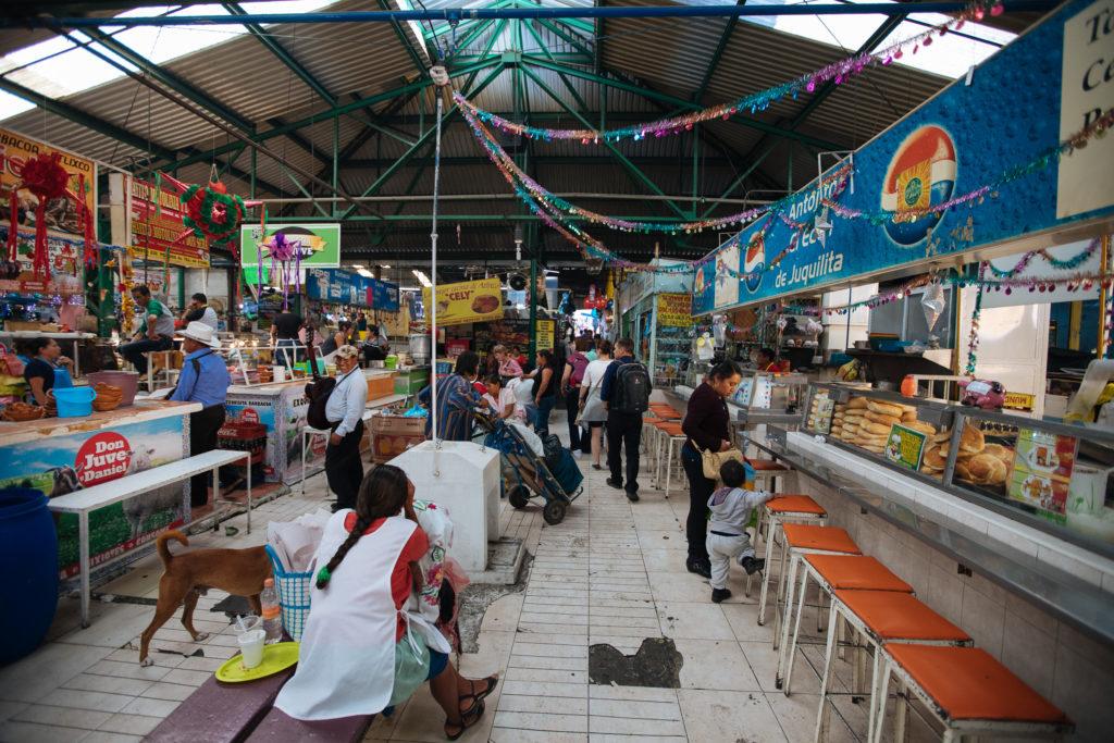 Comedor im mercado Benito Juárez Atlixco