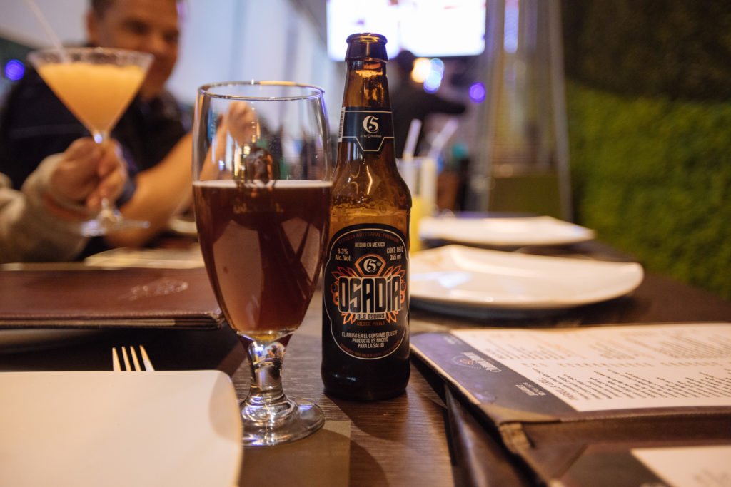 cerveza Osadía, Chimichurri, Sonata, Lomas