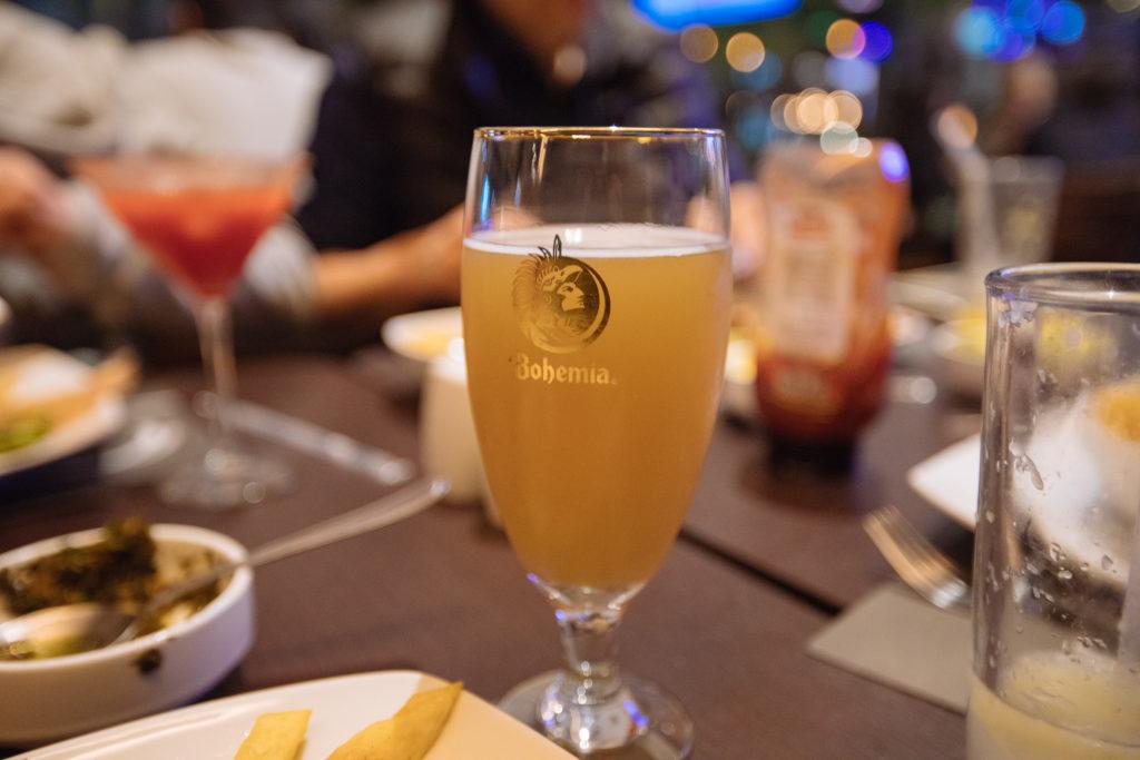 cerveza Osadía clara, Chimichurri, Sonata, Lomas