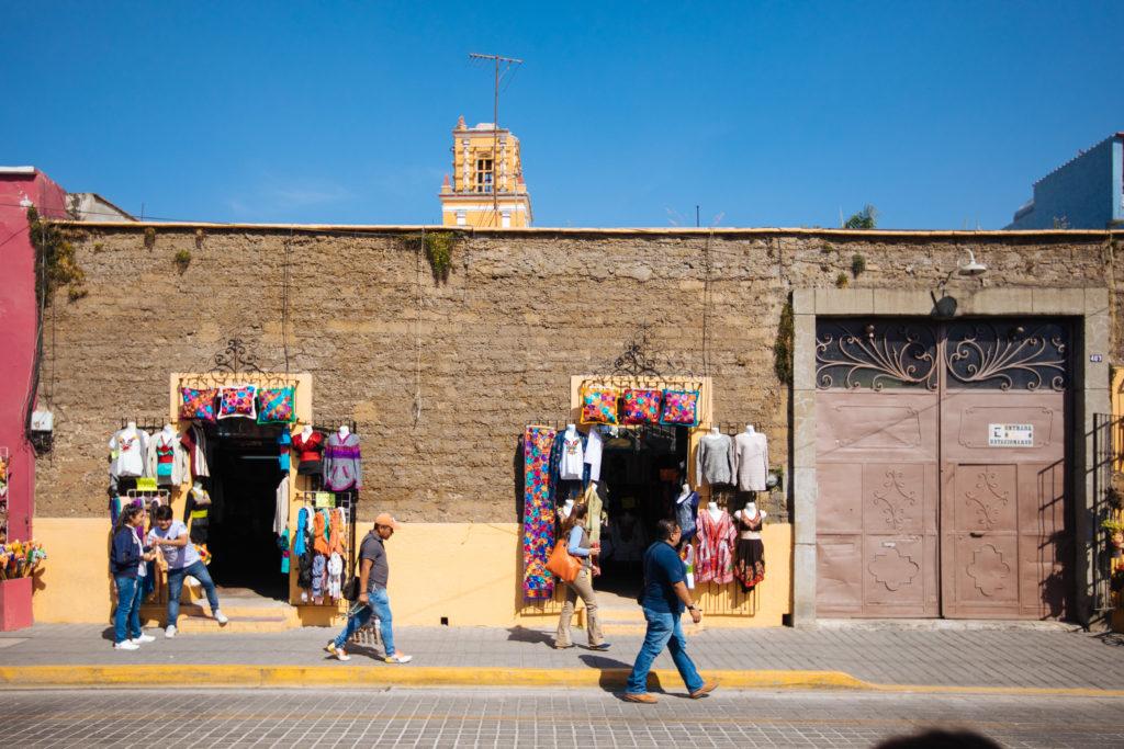 Geschäft an der Av. Morelos in Cholula