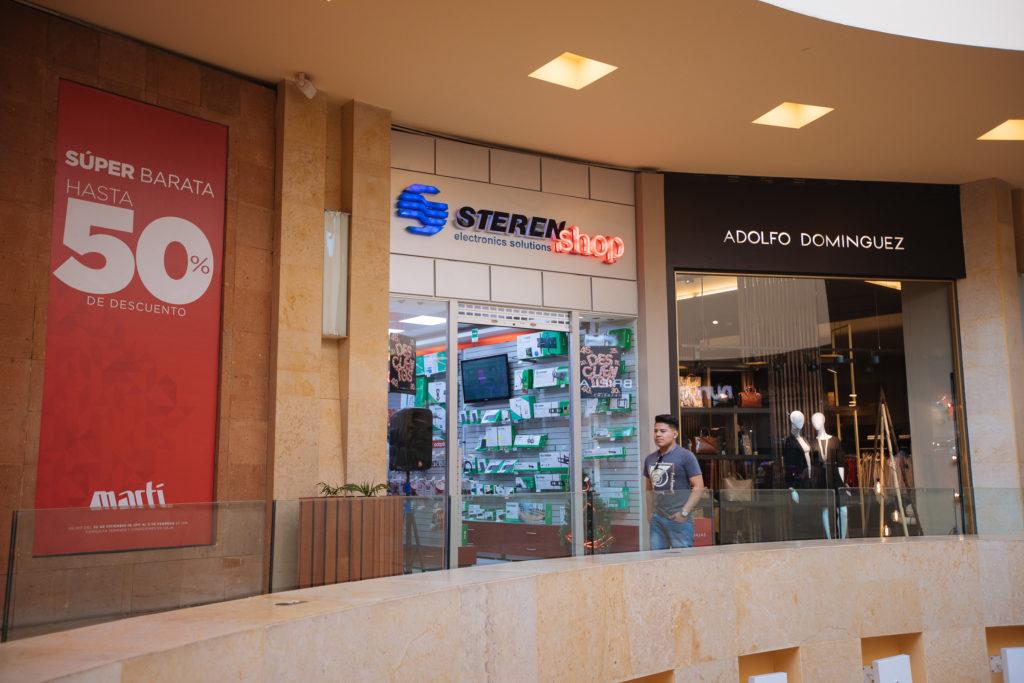 Geschäft Steren in Angelópolis