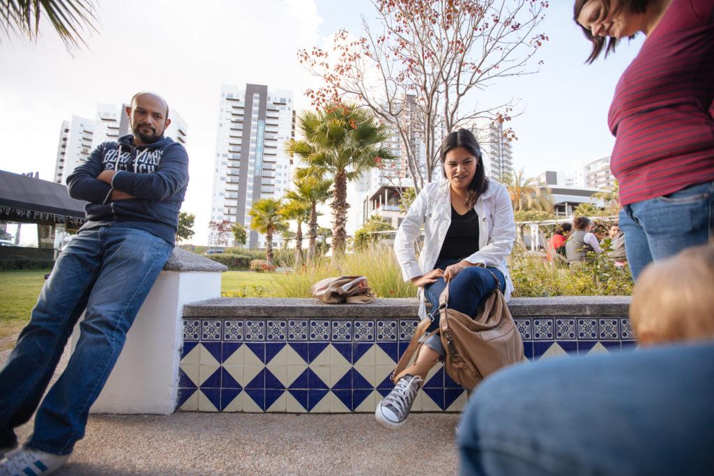 Jose und Alejandra an der Sonata