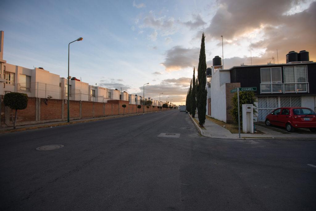 Die Hauptstraße von El Pilar