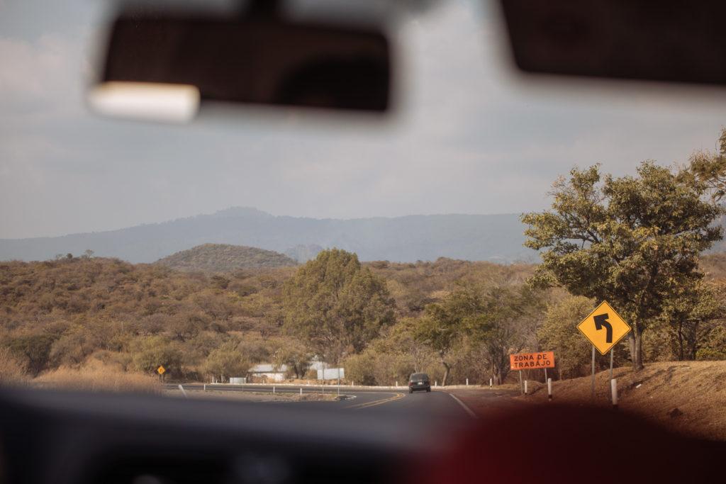 Straße nach Tepoztlán