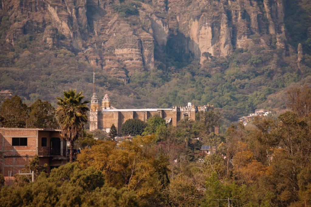 Das Kloster in Tepoztlán