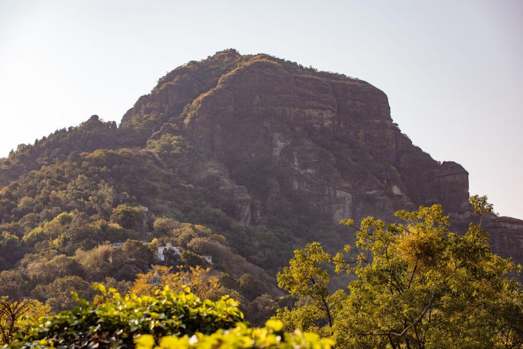 Der Berg von nah