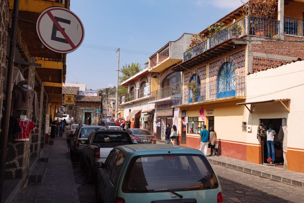 Richtung mercado und Pavillion