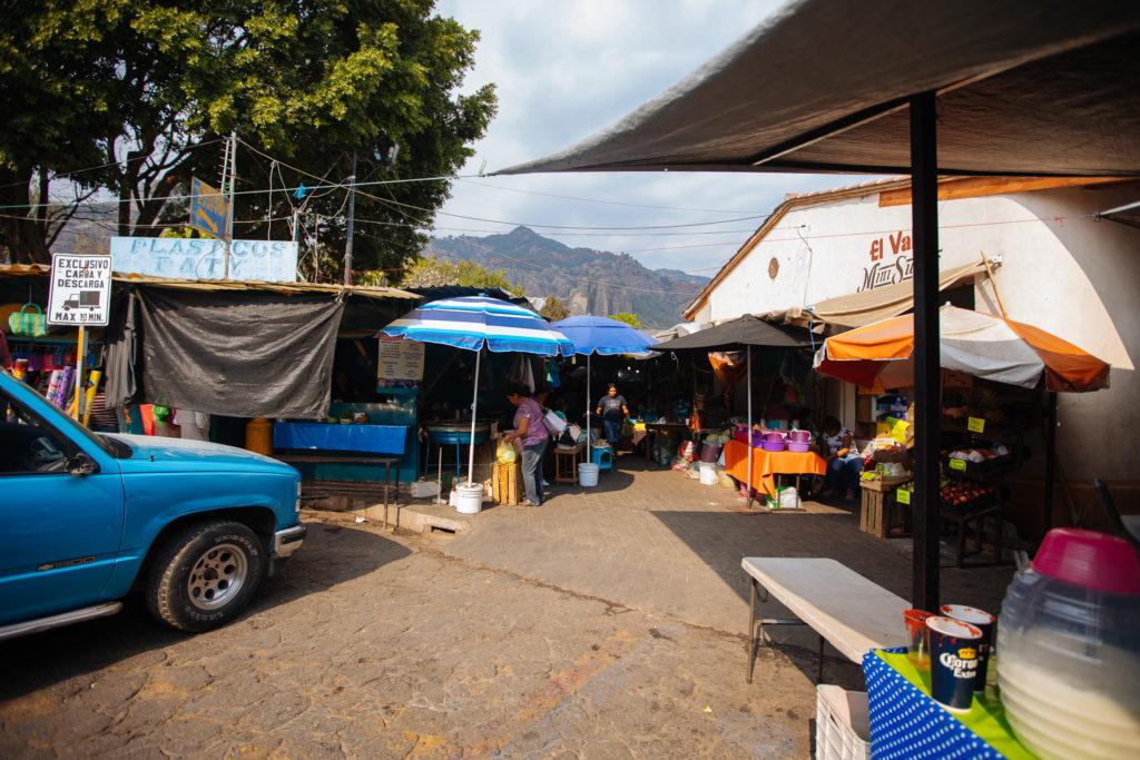 südlicher Eingang vom mercado