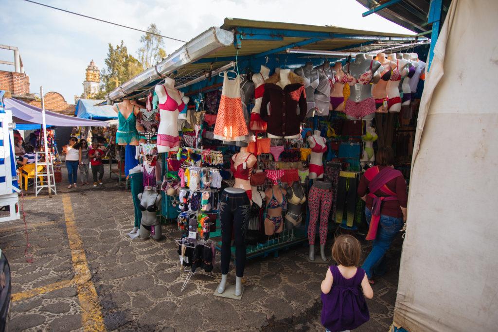 Nordeingang zum mercado