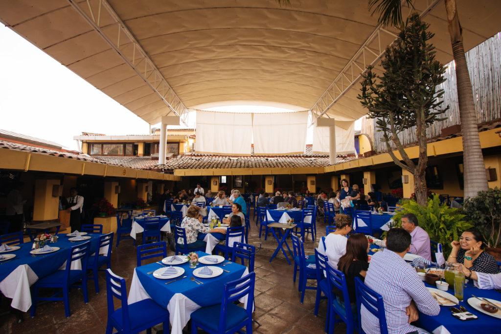 Das Restaurant Ciruelo