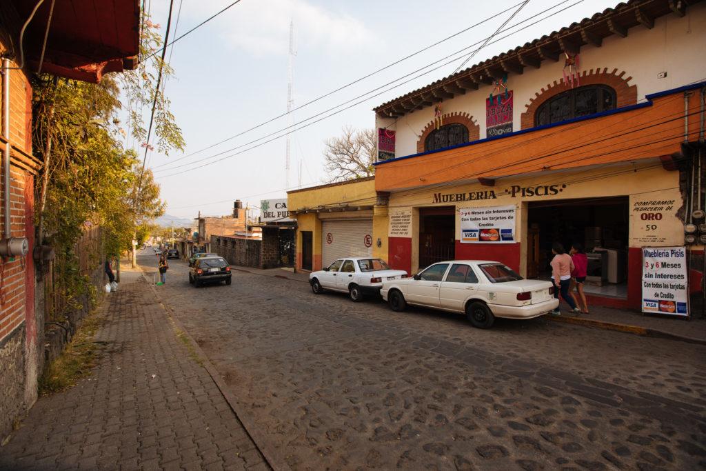 Straße östlich vom convento