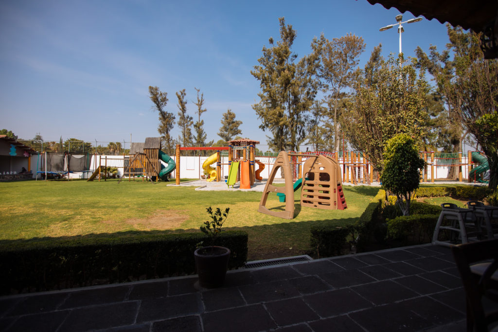 Spielplatz in der Casa de Piedra