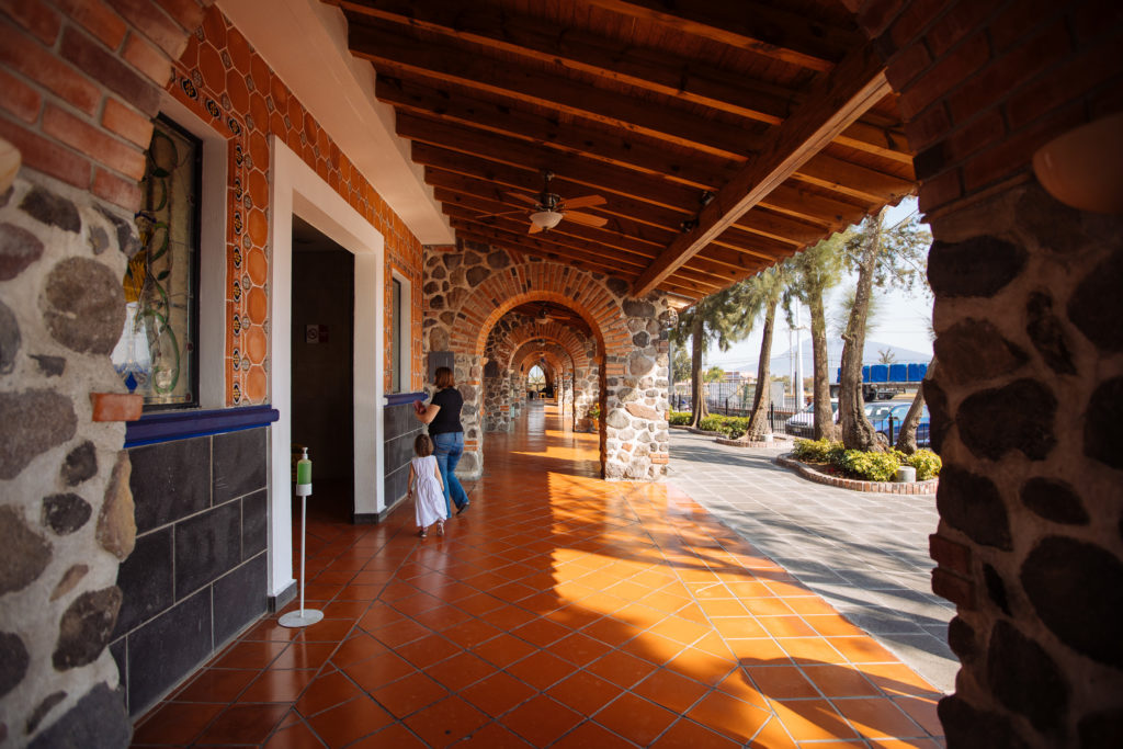 Vordach bei der Casa de Piedra