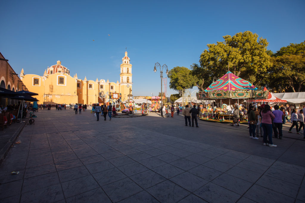 Parroquería de San Pedro, Plaza de la Concordia, Cholula