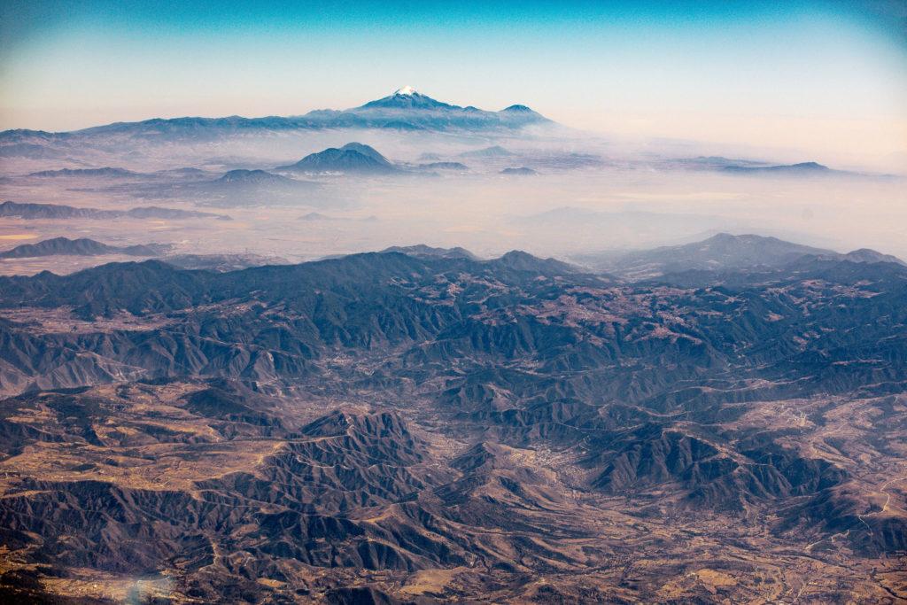 Berge und Pico de Orizaba