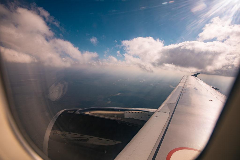 Tropische Wolken, Dschungel von Yucatán