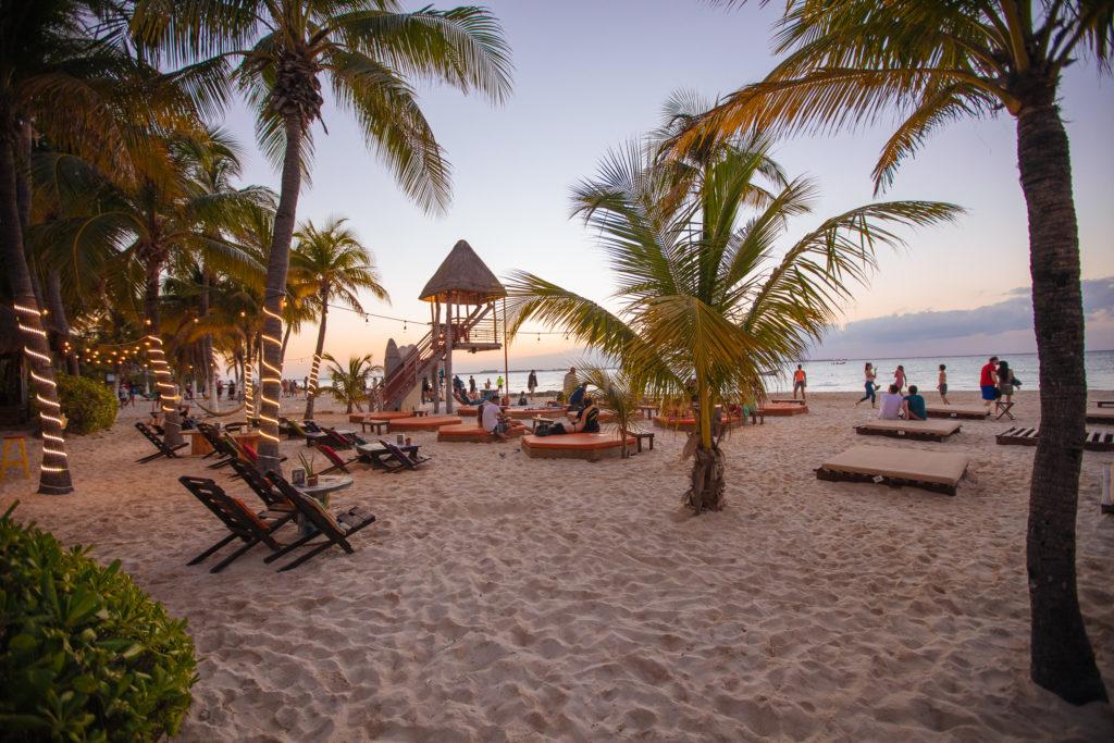 Bademeister-Türmchen Playa Norte, Isla Mujeres
