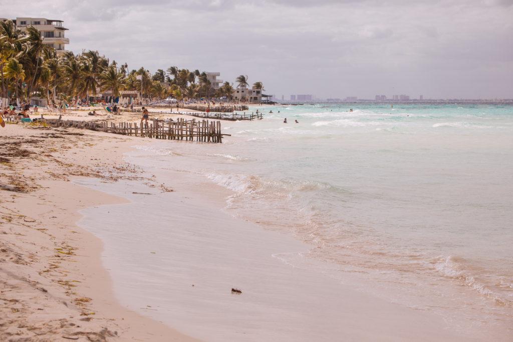 Etwas Sonne an der Playa Norte