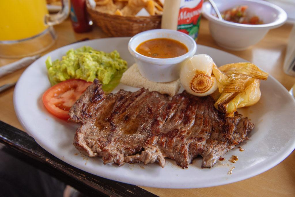 Arrachera beim Don Cafeto in Tulum