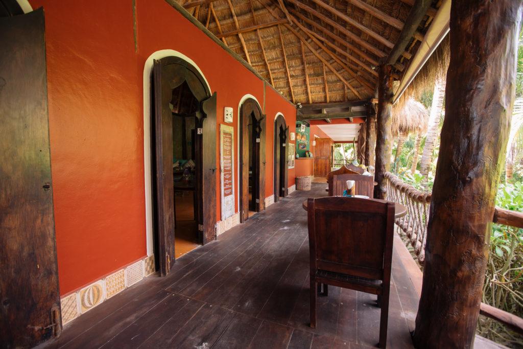 Restaurant bei La Luna Tulum