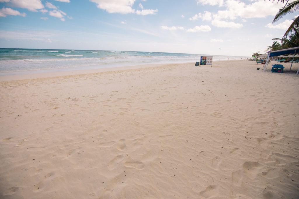Strand vor der Casa Tranquillo