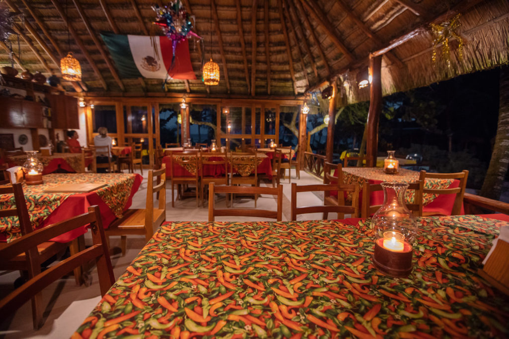 Abendessen im Tita Tulum