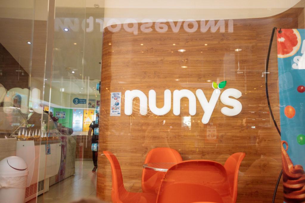 Nuny's Frozen Yogurt in La Isla Cancun