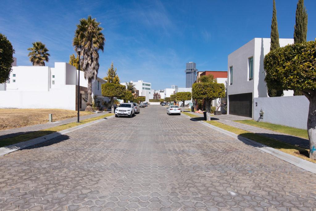 Straße in Lomas