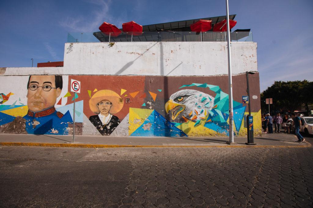 Mural en Puebla