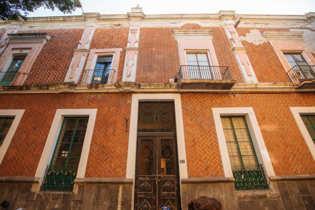 traditionelles Haus in Puebla