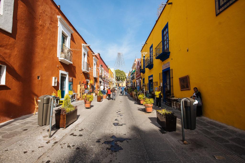Calle 6 Sur in Puebla
